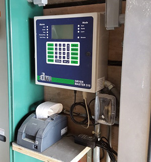 Dryer Master 510 Controller at customer site